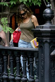 Sarah Jessica Parker - Pokies  While Leaving Apartment