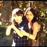 "Zooey Deschanel & Olivia Munn - TwitPics on the Set of ""New Girl"" - Nov 5, 2012"