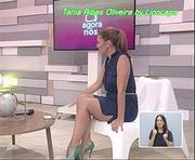 Tânia Ribas de Oliveira sensual na RTP