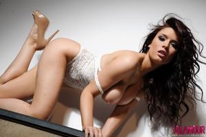 Kelly Andrews - Strips from her white bodysuit i42pkrwzze.jpg
