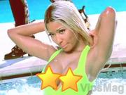 Nicki Minaj 15 nip slip wardrobe malfunction video clip