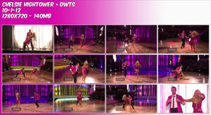 Chelsie Hightower ~ DWTS 10-1-12