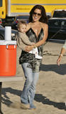 "Brooke Burke visits David Charvet on the set of ""Green Flash"" in Manhattan Beach, September 25"