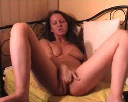 Hot webcam girl masturbating in front of her cam